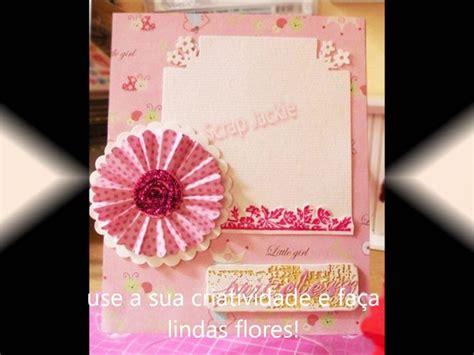 tutorial paper flowers scrapbooking best 66 flores de papel images on pinterest other