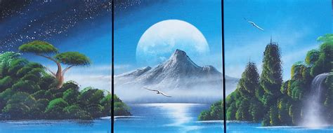 spray paint nature spray paint nature with mountain made by