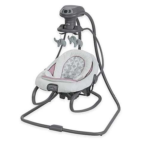 swing and rocker graco 174 duetsoothe swing and rocker in raena buybuy baby