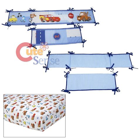 Disney Cars Crib Sheets by Cars Mcqueen With Mater Baby 4pc Crib Bedding Set