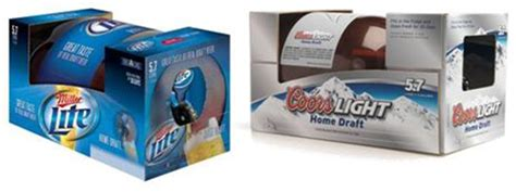 bud light mini keg coors light and miller light home draft gadgetking com