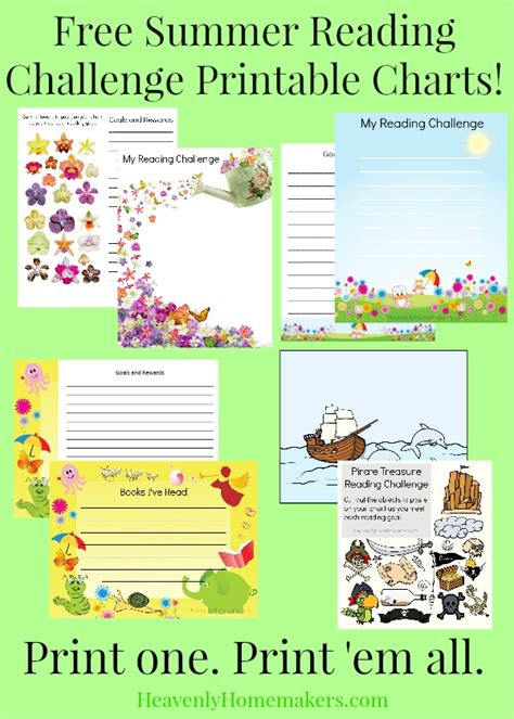 free printable reading graphs free new summer reading challenge printables for your