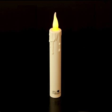 battery operated candles ivory small led 5 5 tapers battery operated candles