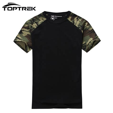 Army T Shirt Impor casual camouflage t shirt cotton army tactical combat t shirt camo mens t
