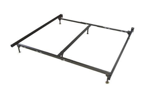 White Metal Bed Frame King King Metal Bed Frame At Gardner White