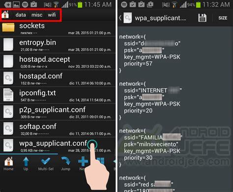 imagenes guardadas android recuperar claves wifi guardadas en mi android android jefe