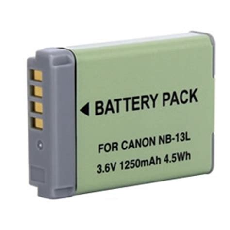 Battery Baterai Canon Nb 13l For Canon G7 X canon powershot g7 x battery save 30 canada batteries for canon powershot g7 x
