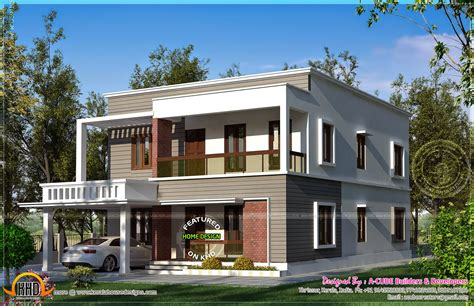 Kitchen Paints Ideas by Modern Flat Roof Ranch House Designs Single Storey Kerala