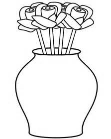 coloring page vase gallery