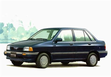 how make cars 1992 ford festiva parking system the ultimate car guide kia pride sedan generation 1 1992 2000