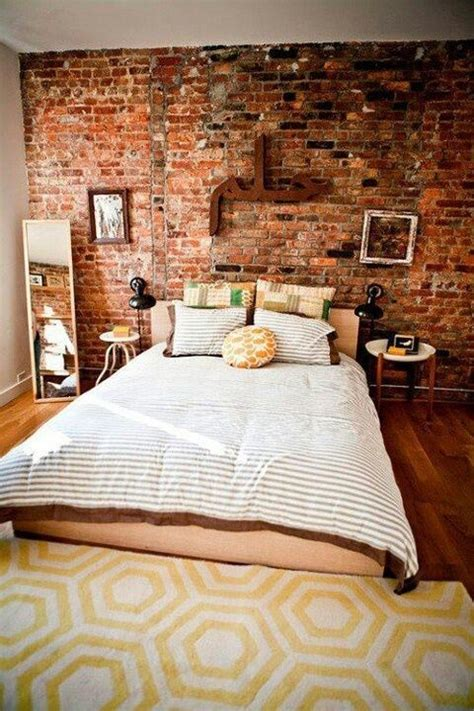 brick wallpaper bedroom brick wallpaper feature wall bedroom bedroom ideas