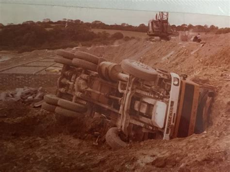 scow end tipper wimpey plant transport archive photos