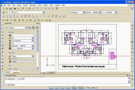 free drafting software all free material draftsight free cad software