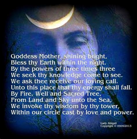 wiccan prayer pagan prayers crystals spells and prayers