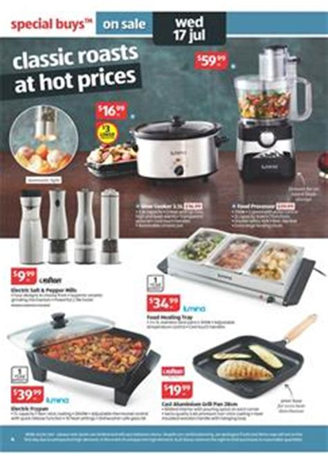 aldi kitchen appliances aldi catalogue july 14 including outdoor and home sale