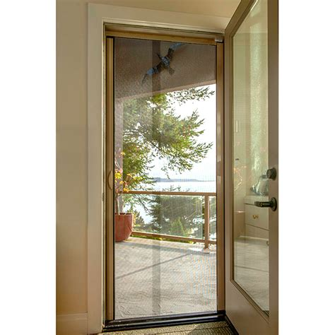 Retractable Screen Front Door Door Outside Front Door Outside View Modern Front Doors Vancouver Doorex