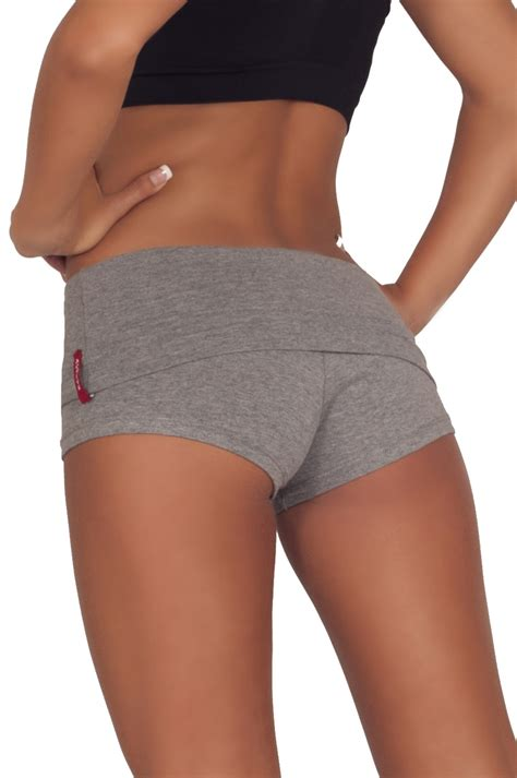 Most Comfortable Running Shorts by Juniors Comfortable And Active Fitted Foldover Workout