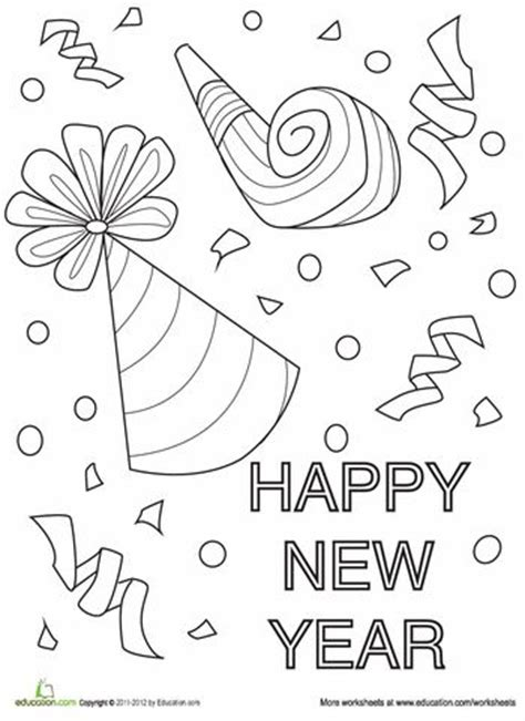 preschool coloring pages chinese new year 17 best ideas about new year s crafts on pinterest