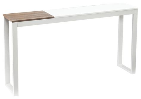 lydock console table white modern console tables by
