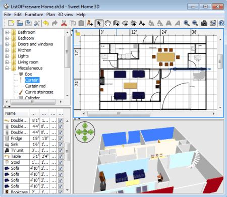sweet home 3d design software reviews sweet home 3d home design software sweet home 3d free