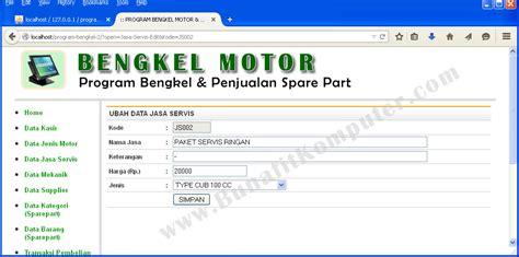 Membuat Aplikasi Sistem Pakar Bunafit Nugroho sistem informasi jasa servis bengkel motor mobil dan