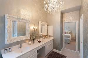 bathroom with wallpaper ideas feminine bathrooms ideas decor design inspirations