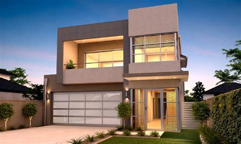 House Plan Ideas South Africa by Narrow Lot Homes Perth 2 Storey Home Design Rosmond