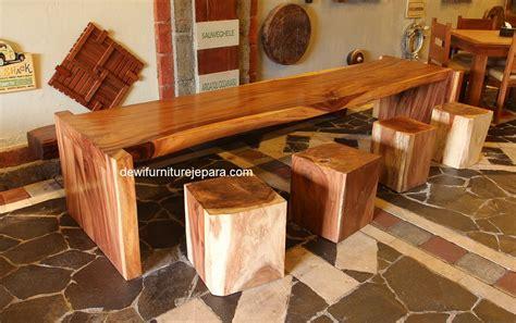 Kursi Makan Bar Trembesi Kursi Cafe Kursi Retro Meja Makansofa reclaimed teak recycled teak mahogany reproduction