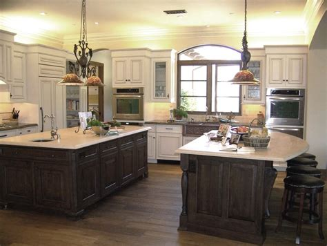 two kitchen islands 24 kitchen island designs decorating ideas design