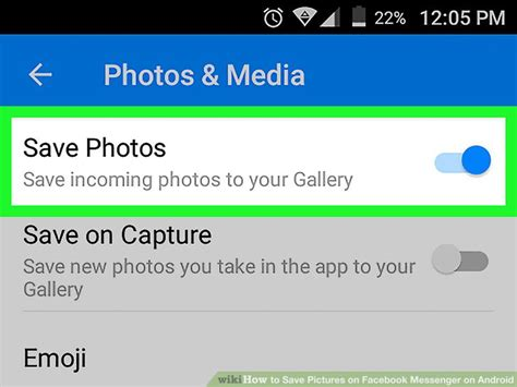how to save on android how to save pictures on messenger on android 9 steps
