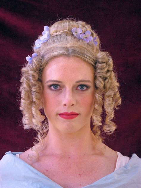 how to do regency hairstyles 1000 images about historical hair on pinterest