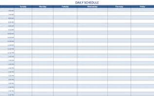 daily rota template free excel schedule templates for schedule makers