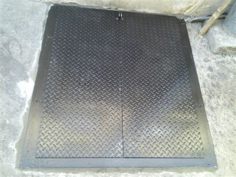 sidewalk cellar and basement access door fabricator and