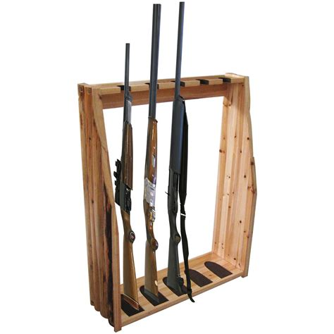 Gun Racks by Creek Log Cabin Style 5 Gun Rack 589904 Gun