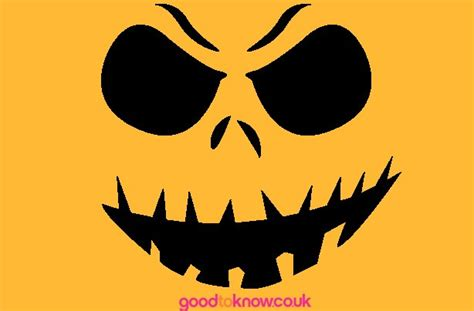 free printable scary jack o lantern stencils carving ideas halloween stencil pattern design and