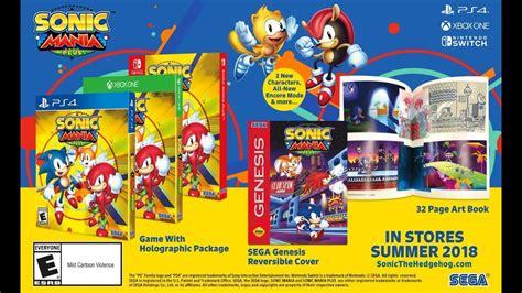 Sonic Mania Collector Edition Ps4 sonic mania plus collectors edition new sega mega drive