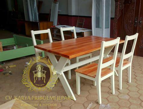 Meja Makan Jati Asli furniture jepara furniture jati furniture minimalis