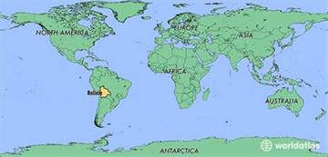 Bolivia World Map by Where Is Bolivia Where Is Bolivia Located In The World