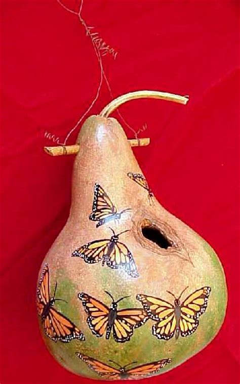 gourd crafts for 361 best painted gourds bird houses images on