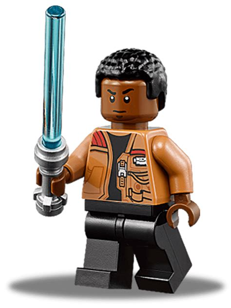 Bootleg Lego Starwars Finn Trooper lego wars the awakens finn with lightsaber minifigure