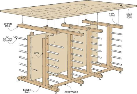 Wood Storage Rack Plans by Overhead Lumber Storage Rack Plans Woodworking Projects