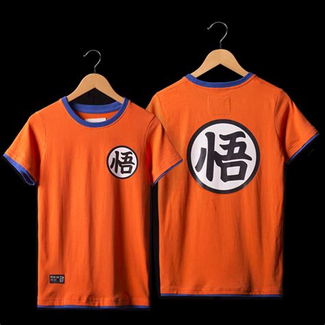 Goku Tees goku t shirts mens orange shirt