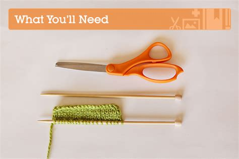 what supplies do i need to start knitting knitting fundamentals how to bind tuts crafts
