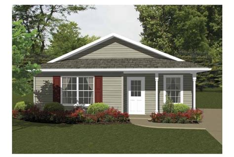 eplans cottage house plan two bedroom cottage 736