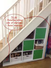 expedit stairs storage ikea hackers ikea hackers