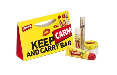 carmex lip balm gift set  piece graftons