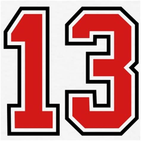 New Jersey Number Search Shop Number 13 T Shirts Spreadshirt