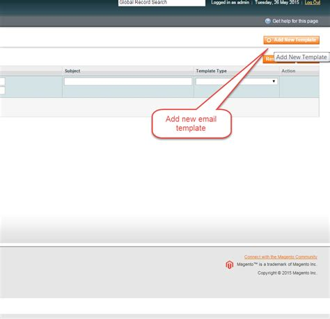 how to create custom email templates how to create and change custom email templates in magento