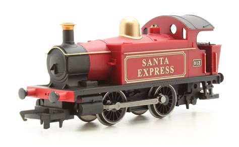 r1185 santa s express christmas train set oo gauge by