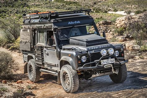 rugged cars the land rover defender one of the most rugged road